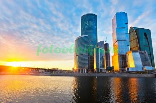 Фотообои Утренний город