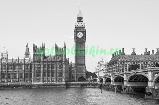 Фотообои Черно белое фото Парламента