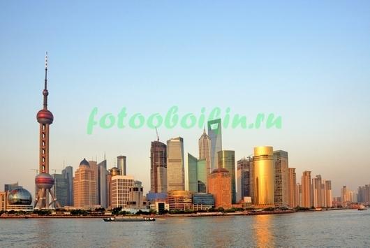Фотообои Рассвет в Шанхае