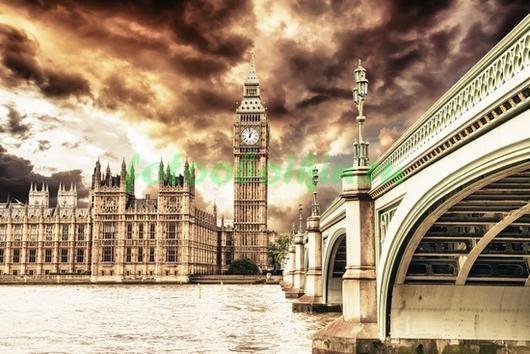 Фотообои Лондон вечером