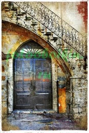Фотообои Старая дверь