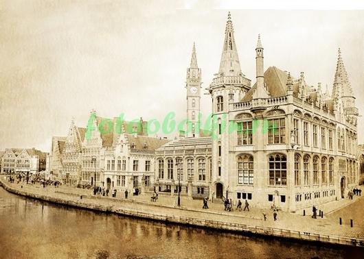 Фотообои Средневековые дома