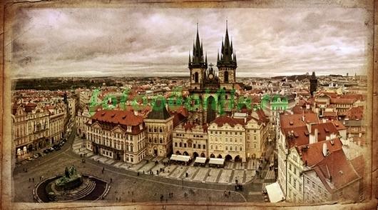 Фотообои Площадь в Праге