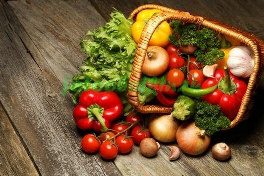 Фотообои Корзина овощей