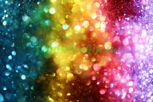 Фотообои Цветной дождь