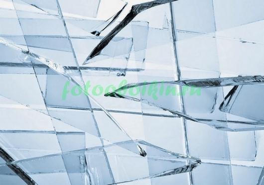 Фотообои Осколки стекла