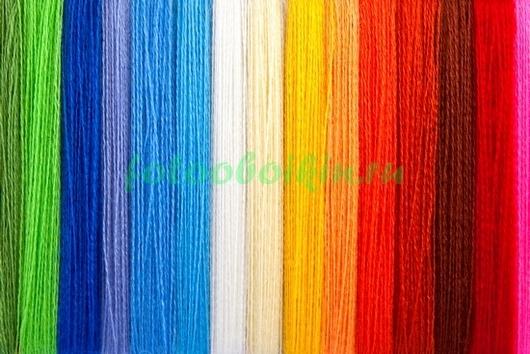 Фотообои Цветные нитки