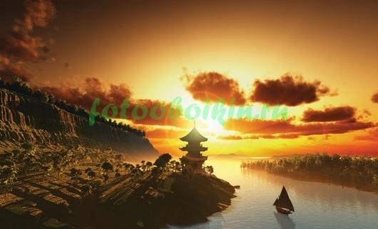 Фотообои Парусник в Китае