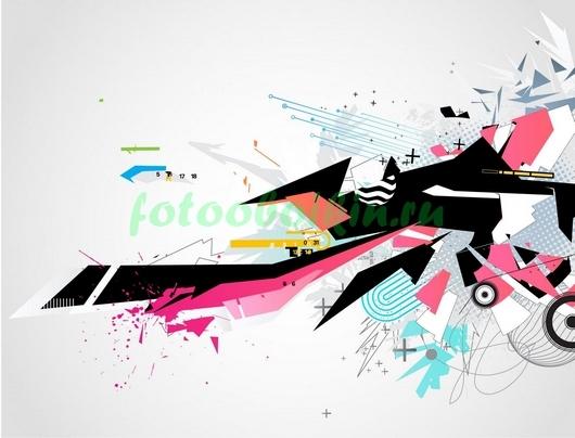 Фотообои Граффити абстракция