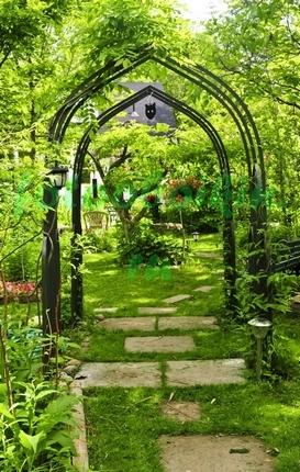 Фотообои Цветочная арка
