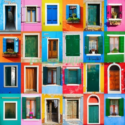 Фотообои Двери