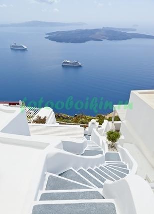 Фотообои Лестница к морю
