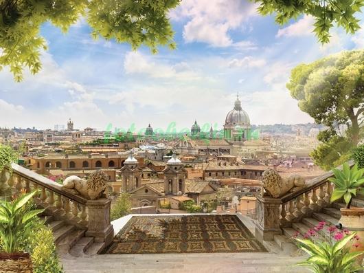 Фотообои Терраса с видом на Рим