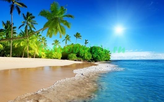 Фотообои Красивый пляж