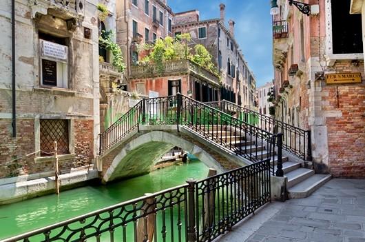 Фотообои Венеция мост 3Д