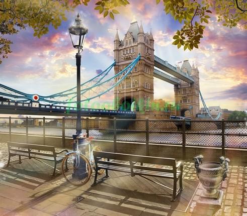 Фотообои Лондон 3Д