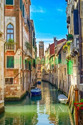 Фотообои Канал в Венеции 3Д