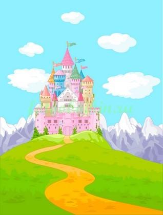 Фотообои Сказочный замок фей