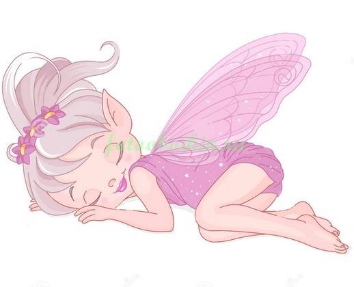 Фотообои Спящая фея