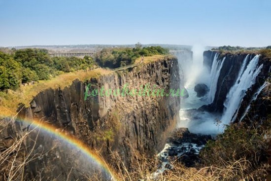 Фотообои Водопад в Африке