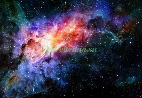 Фотообои Звезды в космосе