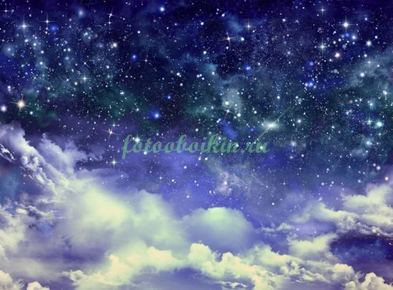 Фотообои Облака и звездное небо