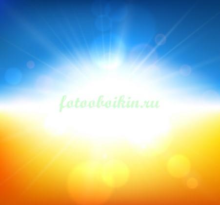 Фотообои Солнечный свет