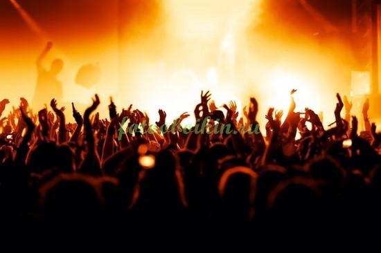 Фотообои Музыка на концерте