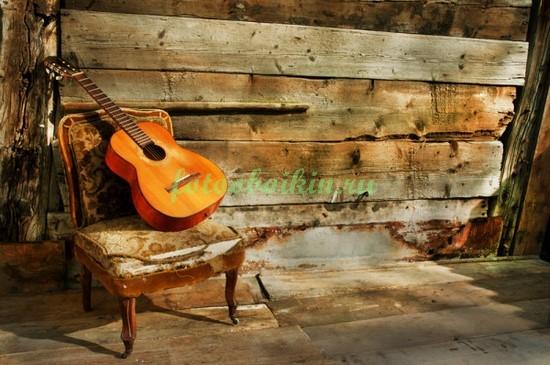 Фотообои Натюрморт с гитарой