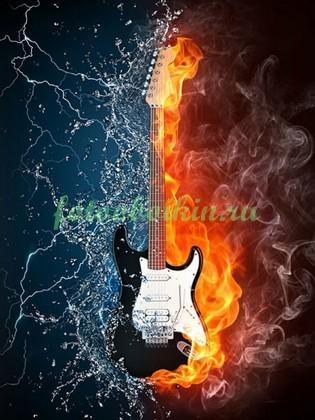 Фотообои Гитара стихий