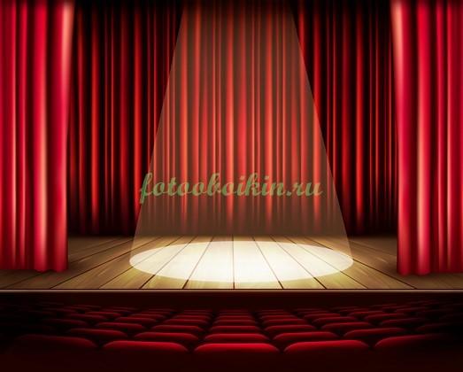 Фотообои Концертный зал и сцена