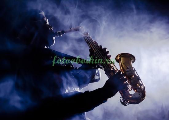 Фотообои Саксофонист