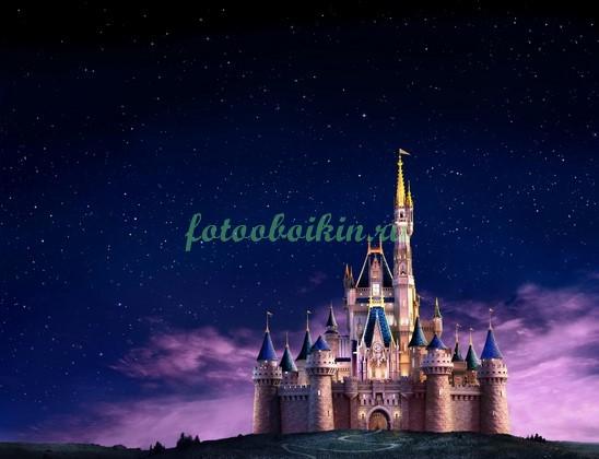 Фотообои Замок Дисней