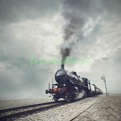 Фотообои Поезд в пути