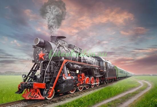 Фотообои Старый поезд