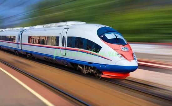 Фотообои Скоростной поезд