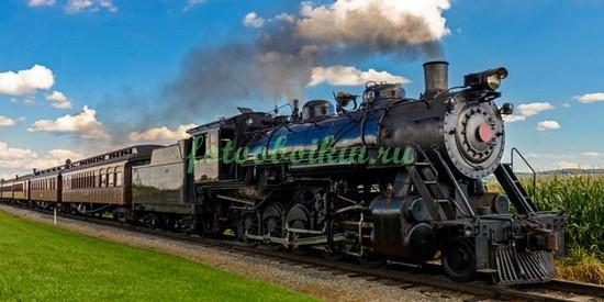 Фотообои Старенький поезд