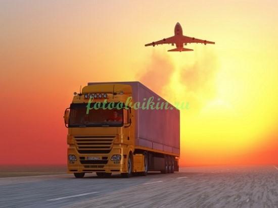 Фотообои Гузовик на закате