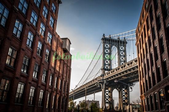Фотообои Вид на Бруклинский мост