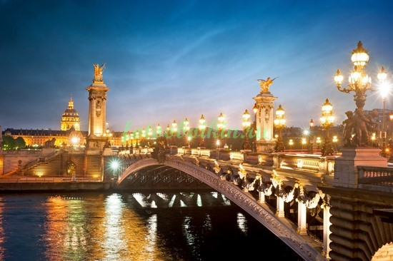Фотообои Парижский мост