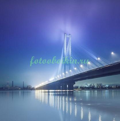 Фотообои Мост ночью