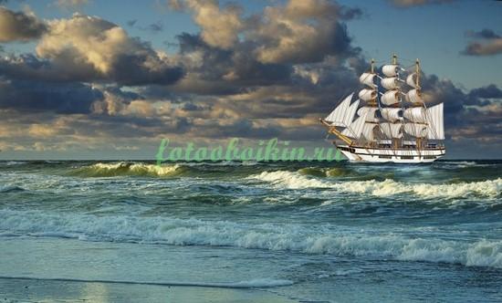 Фотообои Белые паруса