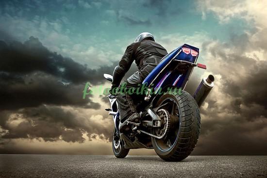 Фотообои Спортивный мотоцикл