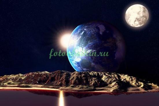 Фотообои Неизвестные планеты