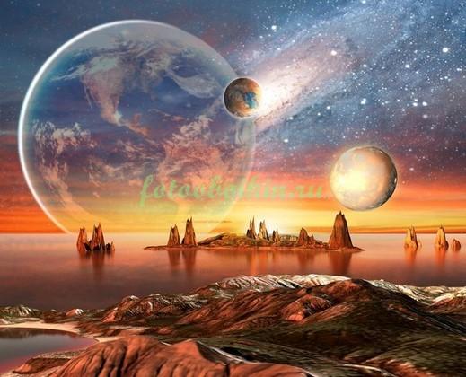 Фотообои Чужая планета