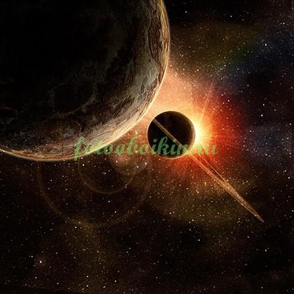 Фотообои Юпитер и Сатурн