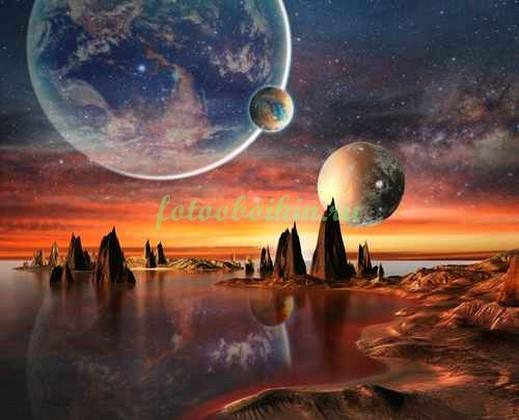 Фотообои Иная планета