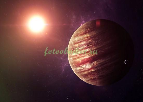 Фотообои Юпитер