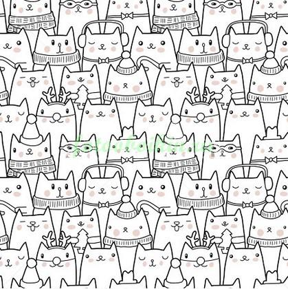 Фотообои Смешные кошки