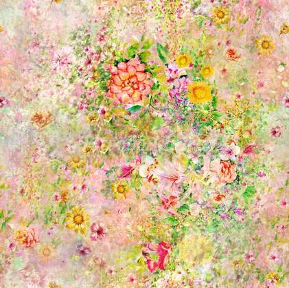 Фотообои Панно Летние цветы 2